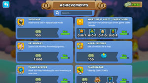 BTD6 Achievements & Hidden Achievements