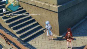 Look For the Three Hidden People | Genshin Impact